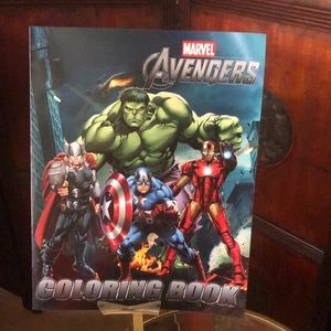 Marvel The Avengers coloring book